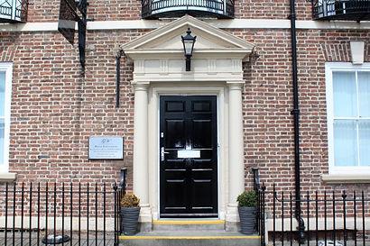 Gloucester House door