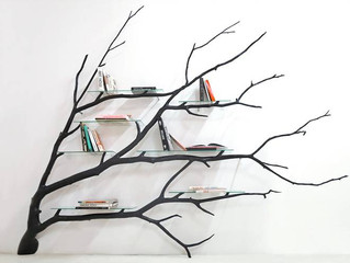 Fallen tree branches get a second life.