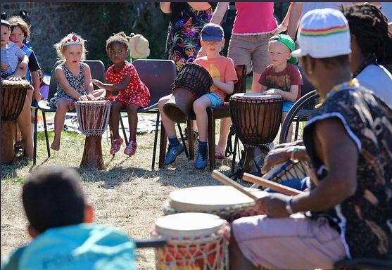 Africa drums workshop