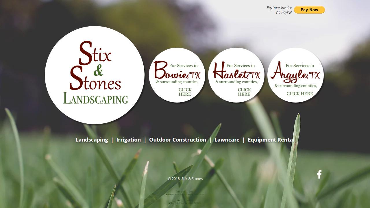 Stix & Stones Landscaping