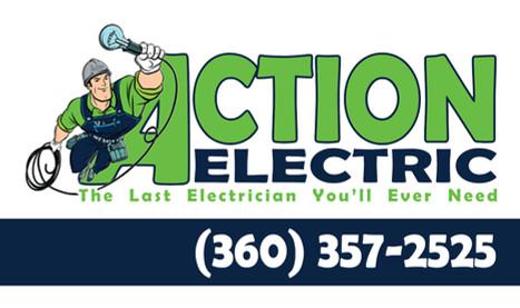 Action Electric Logo