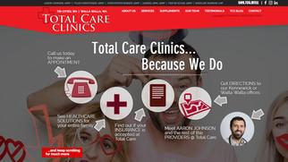 Total Care Clinics Website
