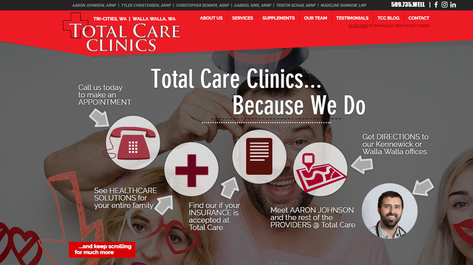 Total Care Clinics - Family Physician