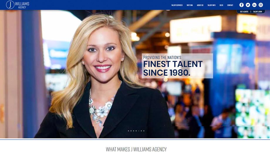 J Williams Agency | Event Models & Talent