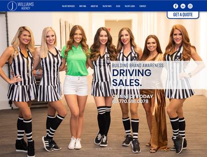 Modeling Agency Website