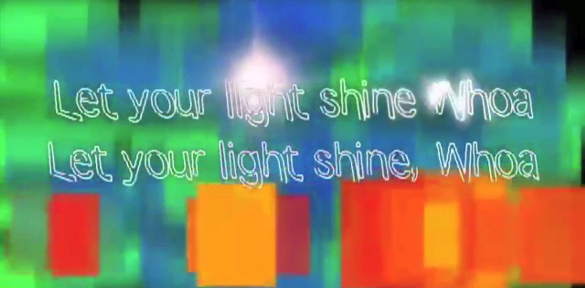 Let Your Light Shine Lyric Video