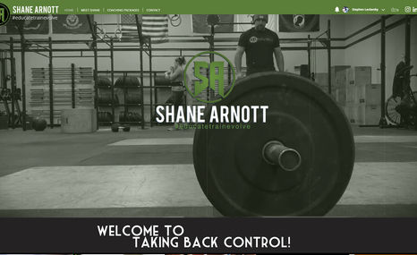 ShaneArnott.com Shane Arnott is a trainer, an educator, an encoura...