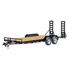 20 Foot Flatbed Equipment Trailer