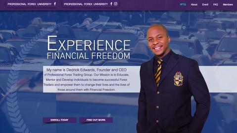 Forex Trading University Website