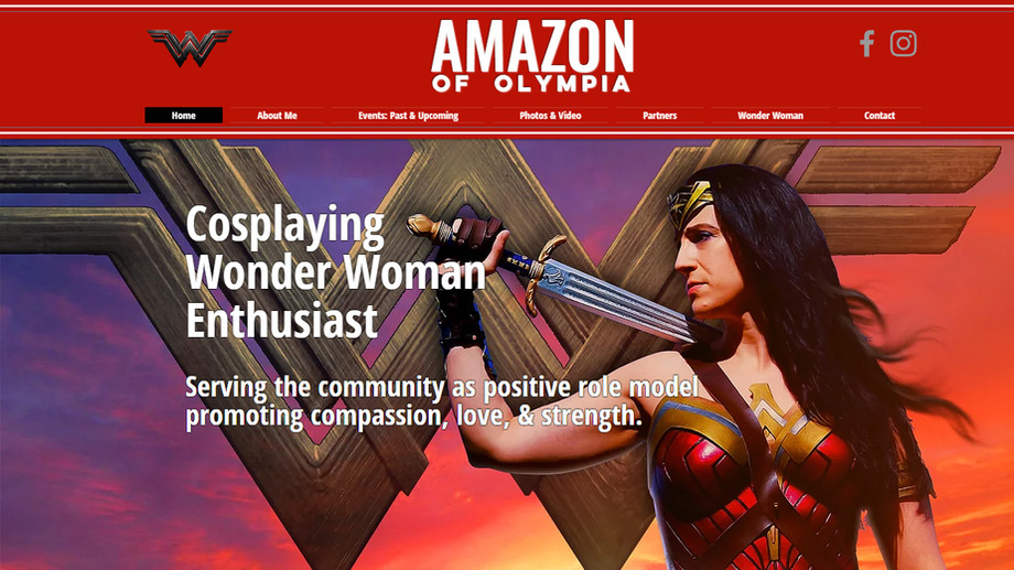 Amazon of Olympia | Cosplay Artist