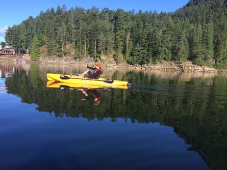 007 – Kayaking in Gunboat Bay