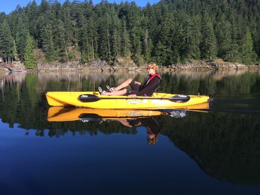 010 – Kayaking in Gunboat Bay