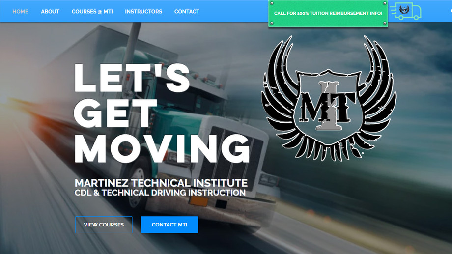 Martinez Technical Institute | Trucker Driving School