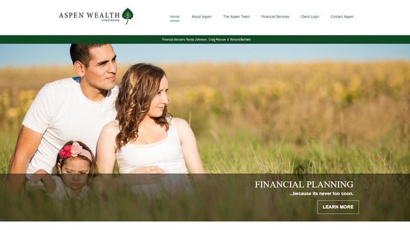 Financial Planner Website
