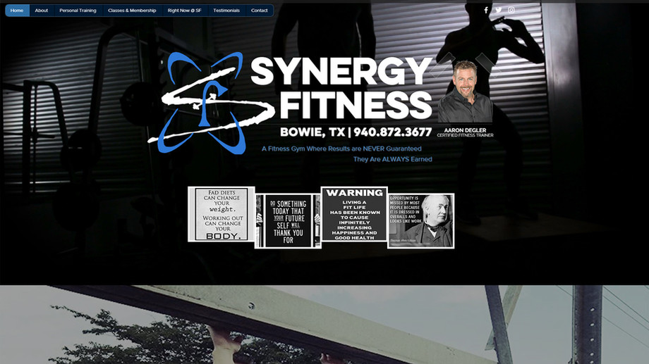 Synergy Fitness Bowie | Gym & Fitness Trainer