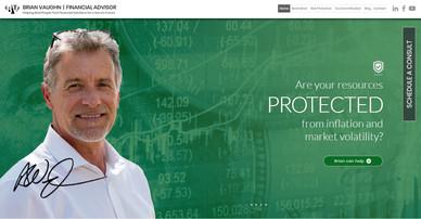 Brian Vaughn Financial Website