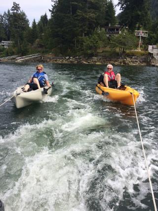 016 – Garden Bay kayak rescue