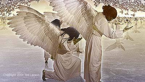 IF THE ANGELS CAN PRAISE HIM . . .