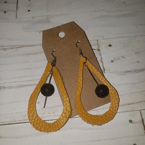 Handmade Leather earrings Handmade Leather earrings