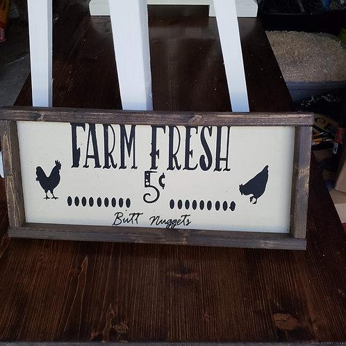 Farm Fresh Butt Nuggets