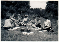 1960 camp in Knowl Hill
