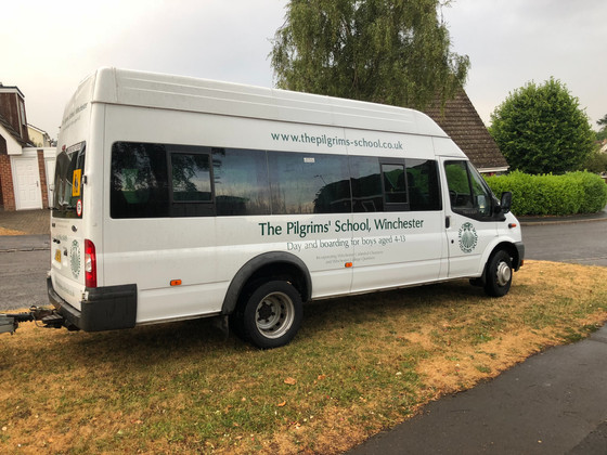 The minibuses are here!
