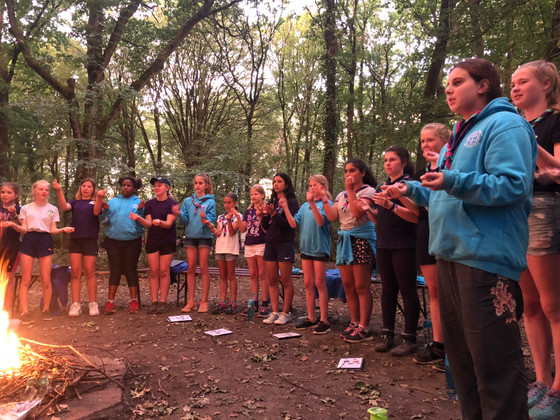 Friday - campfire with 4th Maidenhead