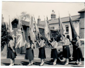 1960 St Georges Day parade