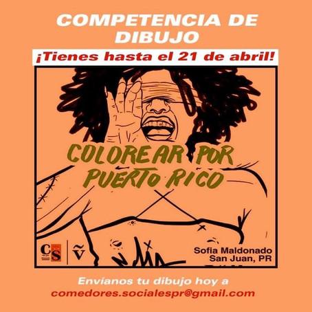 Dibujando por Puerto Rico: la competencia de dibujo inspirada en la Solidaridad