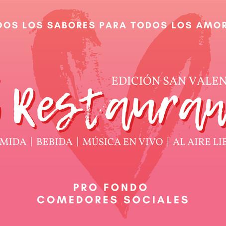 """Comedores Sociales celebrará todos los amores con versión """"Restaurant"""" pro fondo"""