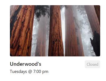 Redwood Trees (Underwood's Group)
