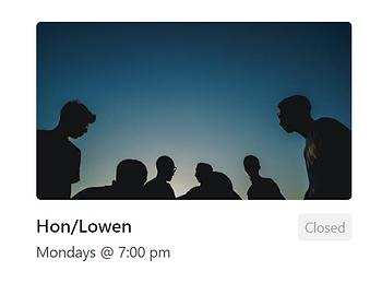 Sillhouette of people (Hon Lowen Group)