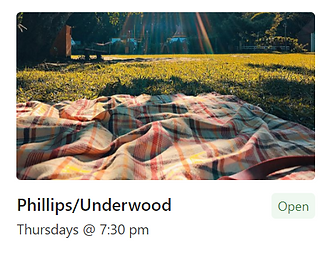 Picnic Blanket Phillips/Underwood Group