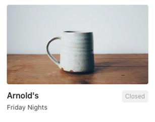 mug on a table (Arnold Group)