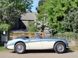 Guest's classic car