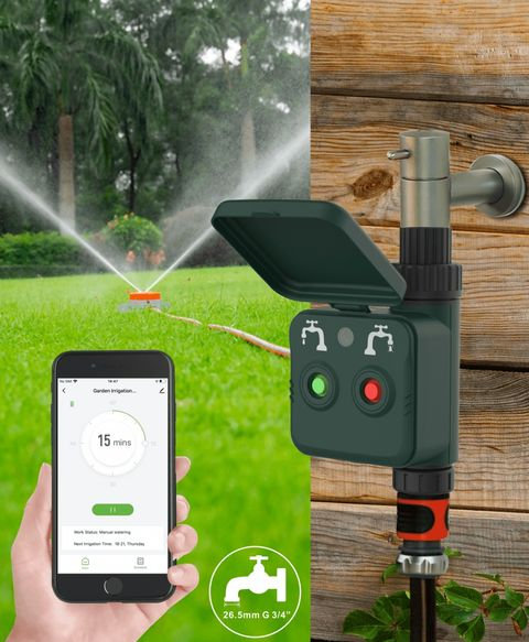 Smart Wi-Fi Garden Irrigation Control