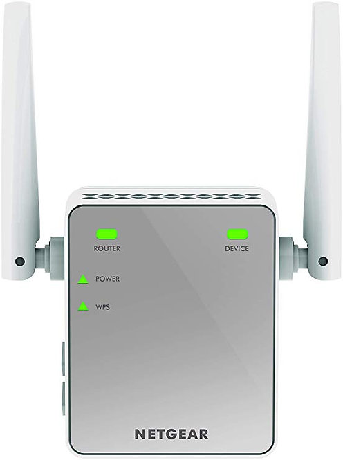NETGEAR N300 Mbps Universal Wi-Fi Booster and Range Extender (EX2700)