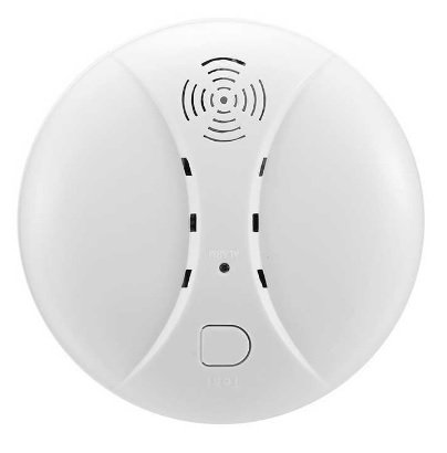 Smart Wireless Smoke Detector Fire Alarm Sensor.