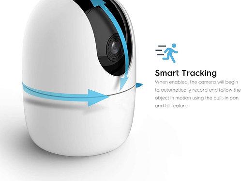 Amcrest SmartHome AI Human Detection WiFi Camera, Indoor Pan/Tilt Wireless IPCam