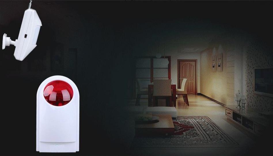 Stylish Effective Stobe Alarm