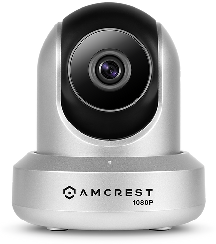 ProHD 1080P WiFi Video Monitoring Security Wireless IP Camera (Silver).