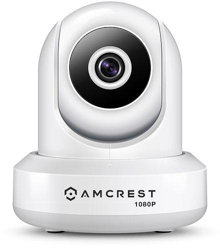 ProHD 1080P WiFi Camera 2MP Indoor Pan/Tilt Security Wireless IP Camera(White).