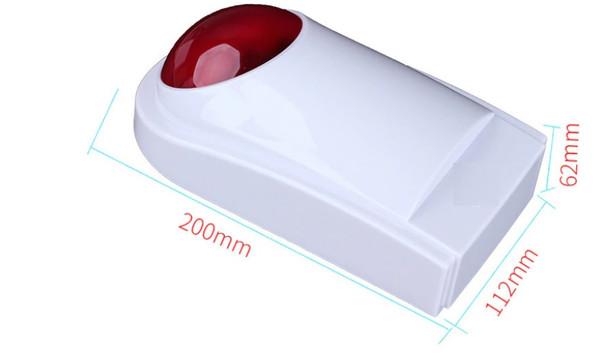 Alarm Sirens Strobe Sensor Night Light Dimensions
