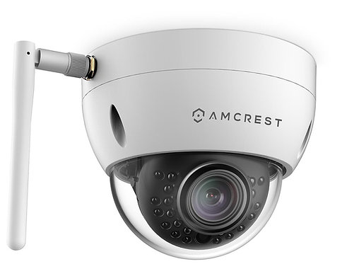 ProHD Outdoor 1.3 Megapixel Wi-Fi Vandal Dome IP Security Camera.