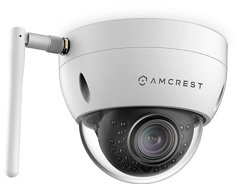 ProHD Outdoor 1.3 Megapixel Wi-Fi Vandal Dome IP Security Camera.