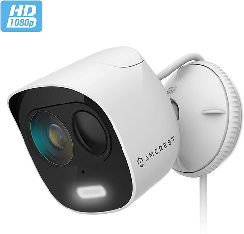 Amcrest SmartHome 1080p WiFi Outdoor Security Camera.