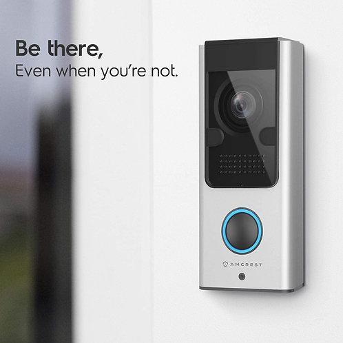 Amcrest SmartHome Video Doorbell Camera, 2.4 GHz WiFi Doorbell