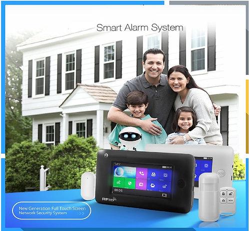 All Touch Screen Alexa Version SIM/WIFI Smart Security Alarm.