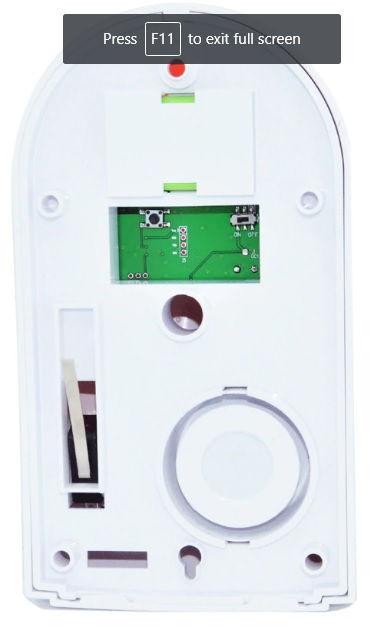 Alarm Sirens Strobe Sensor Night Light Back