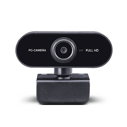 Midland W199 HD - USB Webcam with Microphone, for HD Videocalls, Skype, FaceTime